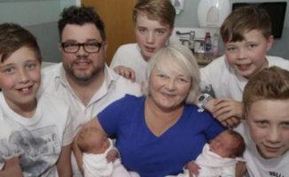 Neįtikėtina šeimyna arba ką reiškia būti trijų dvynių porų mama