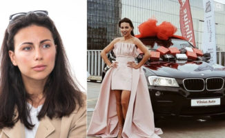 Julijos Žižės konkursas kelia įtarimus: jos pačios BMW laimėjo tokius pat auto iš JAV gabenančios įmonės direktorius
