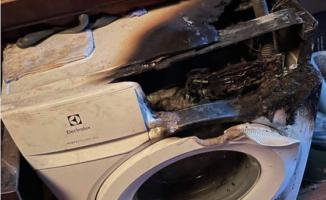 Vilnietė pasidalino nelaime: per naktį į kištukinį lizdą įjungta skalbimo mašina sukėlė gaisrą