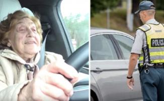 Policija sustabdė per lėtai važiavusį auto, kurį vairavo pensininkė. Tačiau, kai pamatė kartu važiavusių keleivių veidus, suprato kai ką pribloškiančio