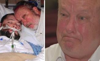Kai daktaraii norėjo atjungti gyvybę palaikantį aparatą vyro sūnui, jis tam pasipriešino užsirankindamas su ginklu palatoje. Tai, kas nutiko po to, buvo lyg iš filmo scenarijaus