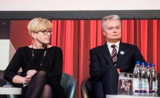 Ingrida Šimonytė Prezidento įtarimų dėl sulėtėjusių skiepijimo tempų nekomentuoja: iš pagarbos prezidento institucijai